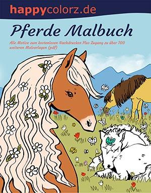 Pferde Malbuch - Mehr Infos